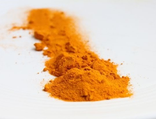Photo Curcuma powder