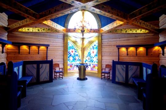 Lyskapellet altar