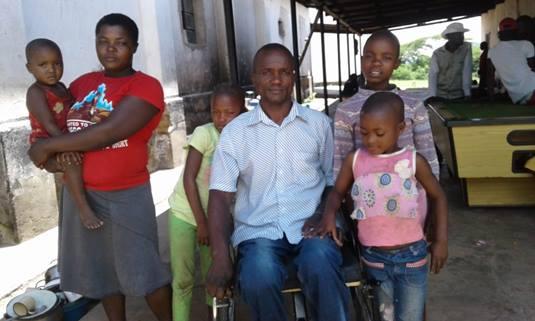Simon & family close photo