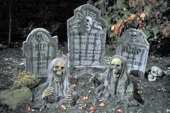 2-ghost-on-graveyard-photo