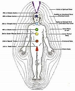 Barbara Brennan chakras and body