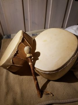 Round finnished drums