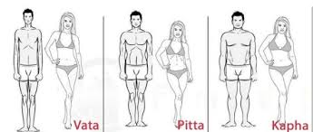 Body types Doshas Couples - drawing