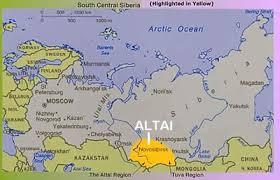 altai map