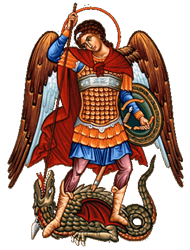 Archangel Michael & Dragon