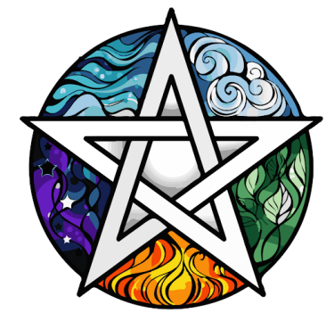 Five pointed star & elements